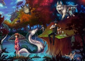 Le opere di Hayao Miyazaki