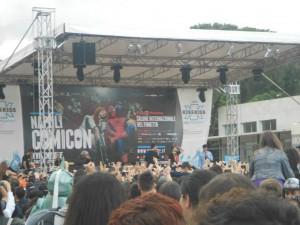 Napoli Comicon - Palco esterno