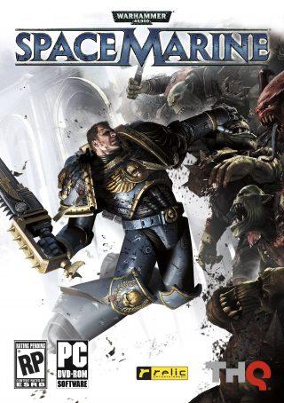 Copertina di Warhammer 40.000: Space Marine