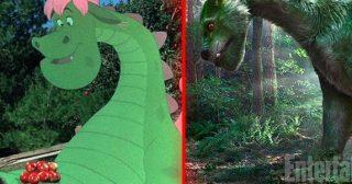 Differenza tra Elliott nel film originale ripetta ad Elliott in Il Drago Invisibile