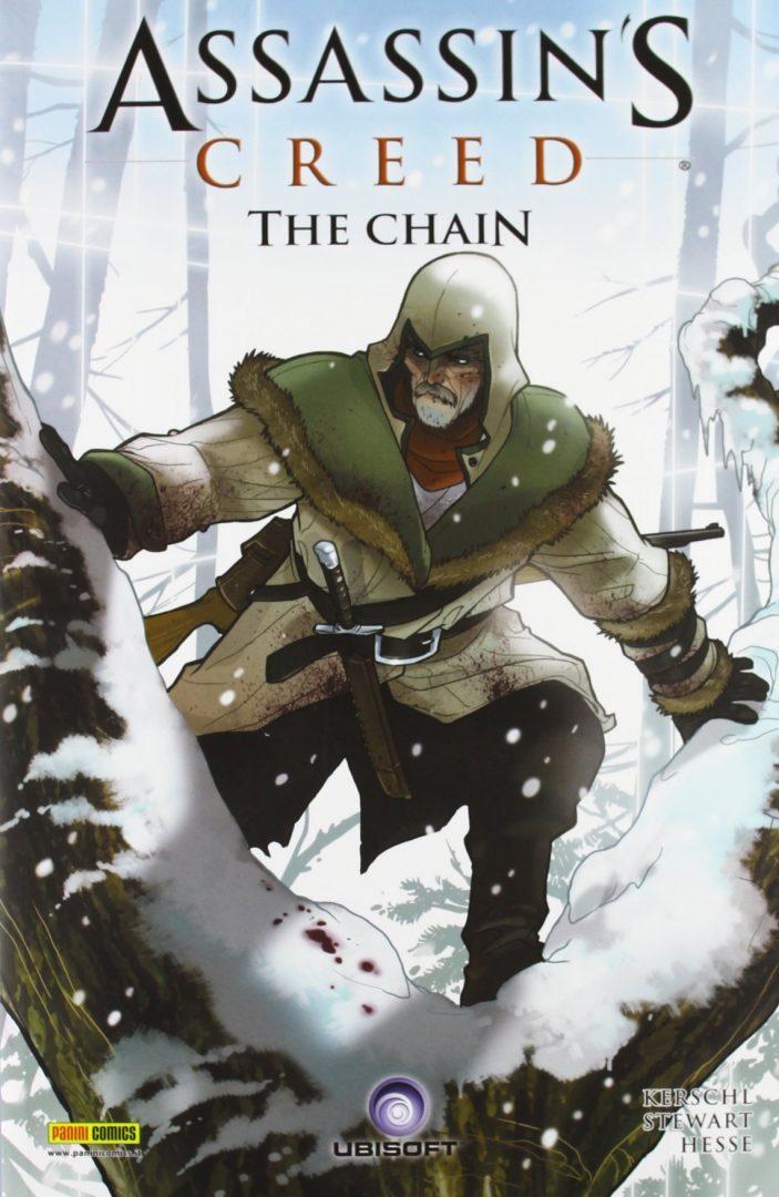 Copertina della seconda parte di The Chain, quarto numero della serie fumettistica di Assassin's Creed.