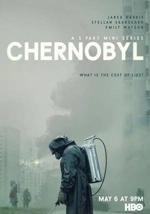Copertina della serie televisiva Chernobyl.