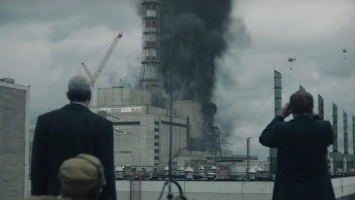 Una scena tratta dalla serie televisiva Chernobyl.